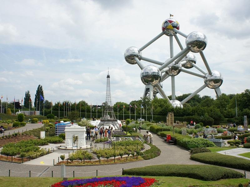 Mini Europe e Atomium em Bruxelas
