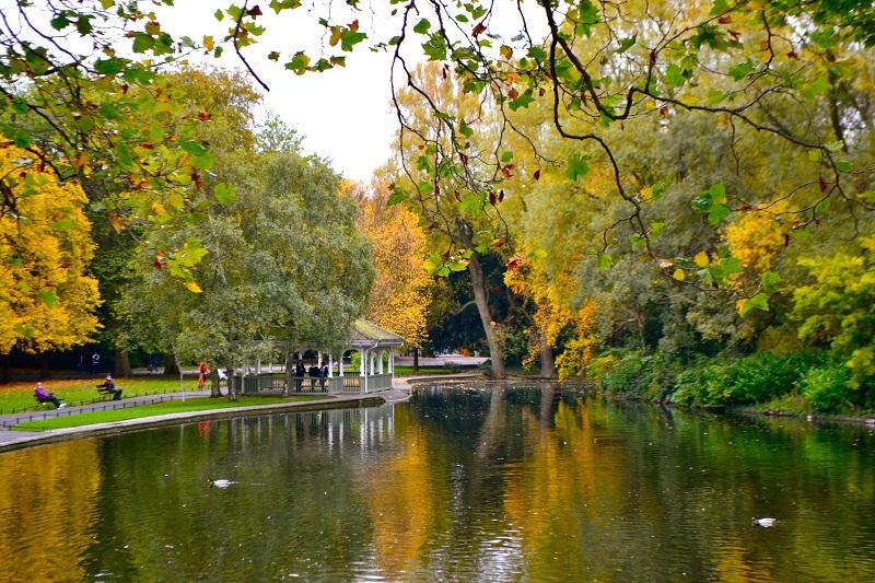 Outono em Dublin