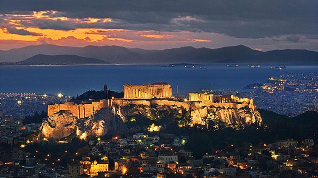 Passeios em Atenas na Grécia