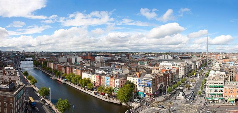 Pontos turísticos em Dublin na Irlanda