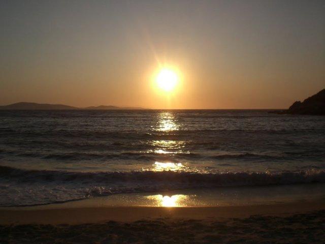 Pôr do sol em Mykonos | Grécia