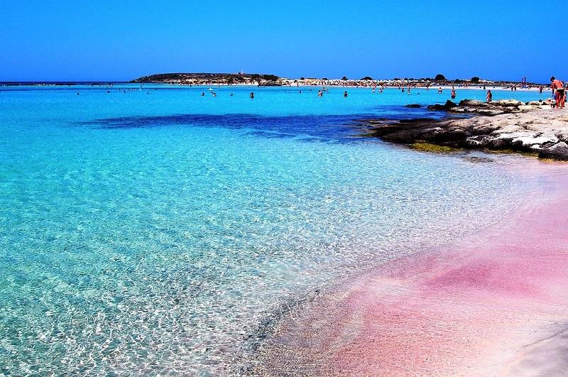 Praia em Creta