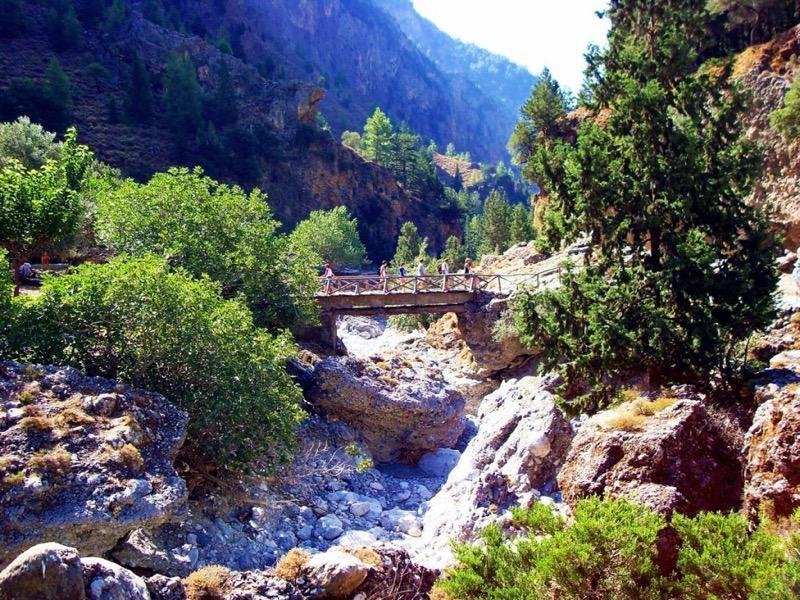 Samaria Gorge em Creta
