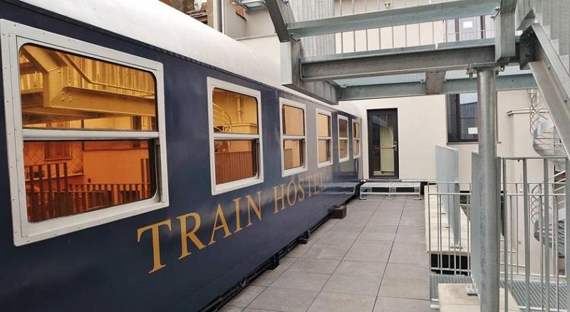 Train Hostel em Bruxelas