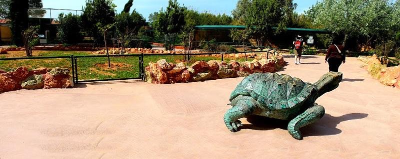 Parque zoológico de Attica em Atenas