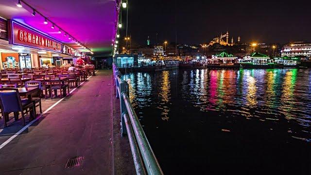 Ponte de Gálata em Istambul