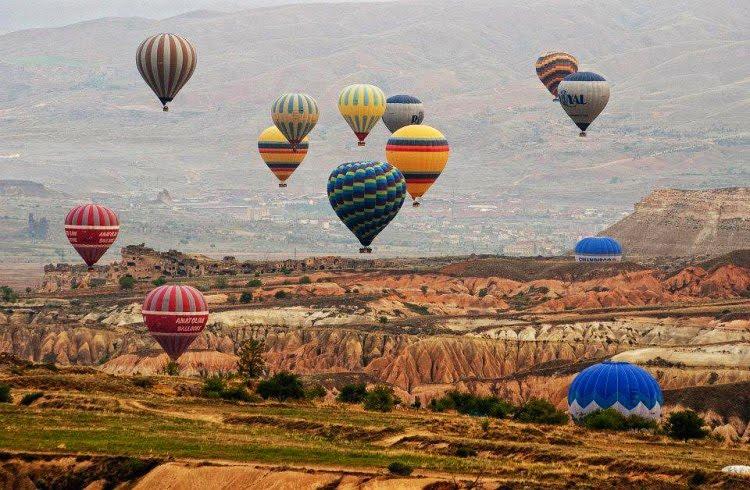 Capadócia na Turquia
