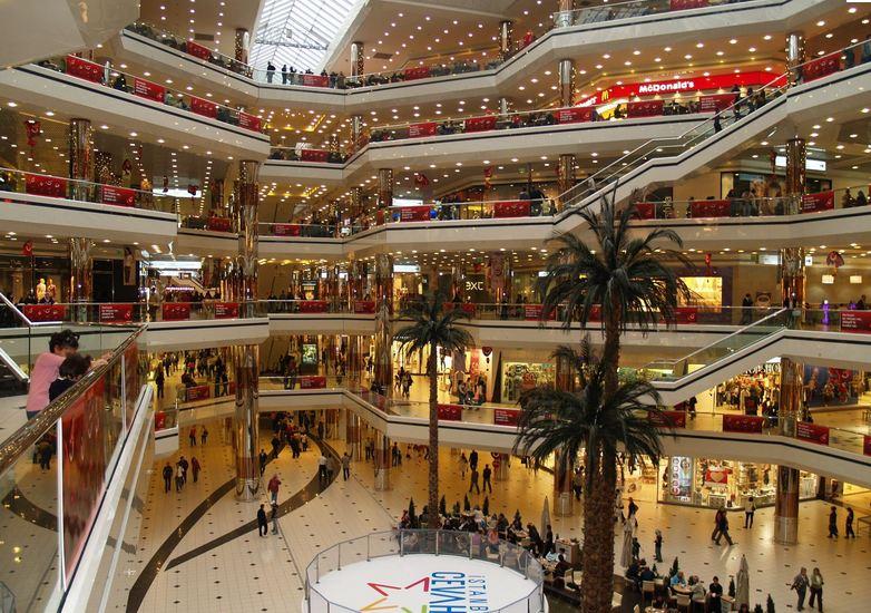 Shopping Cevahir Istambul na Turquia