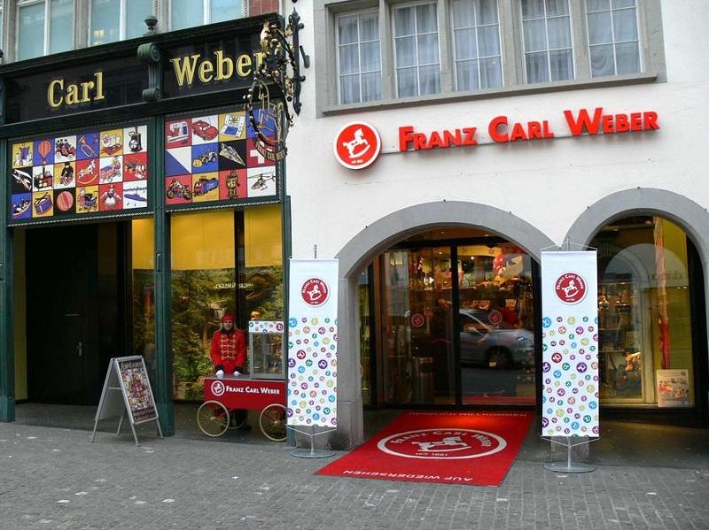 Loja de brinquedos Franz Carl Weber em Zurique