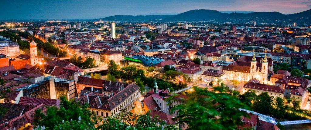 Graz na Áustria