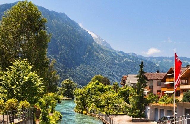 Principais cidades turísticas da Suíça