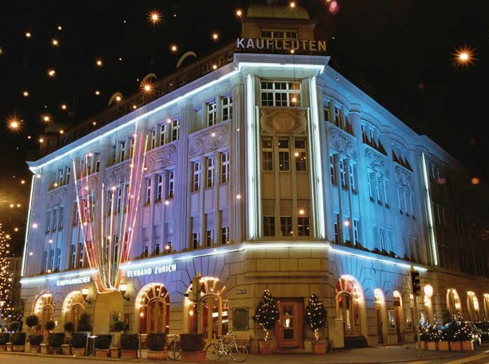 Balada Kaufleuten em Zurique