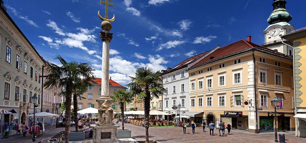 Klagenfurt na Áustria