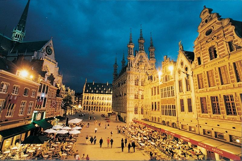 Leuven na Bélgica