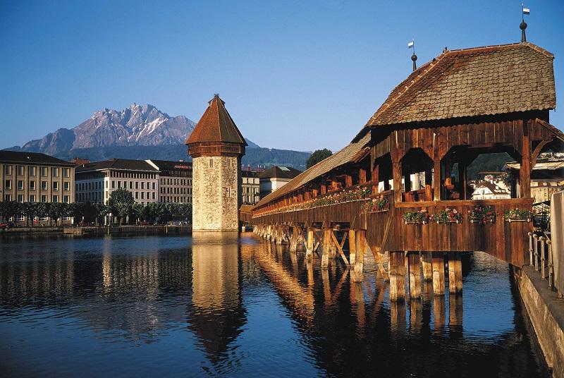 Lucerna na Suíça