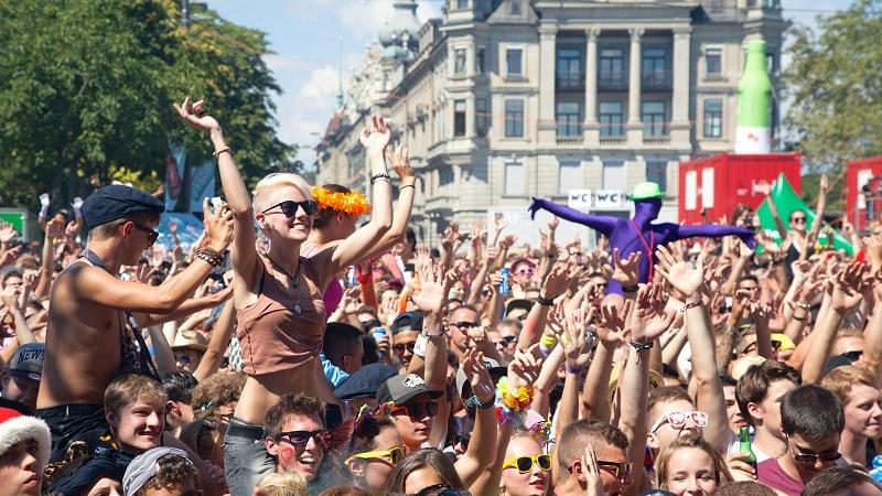 Streetparade em Zurique