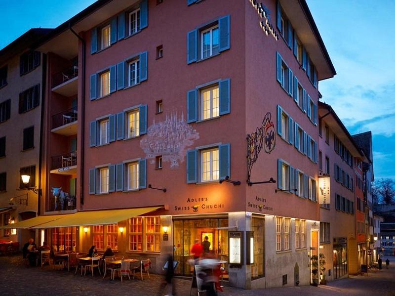 Restaurante Swiss Chuchi em Zurique