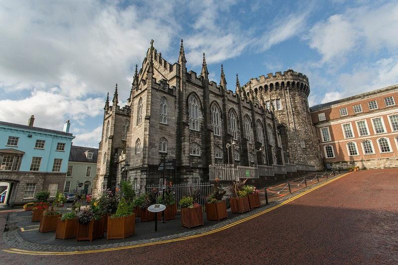 Área do Castelo de Dublin
