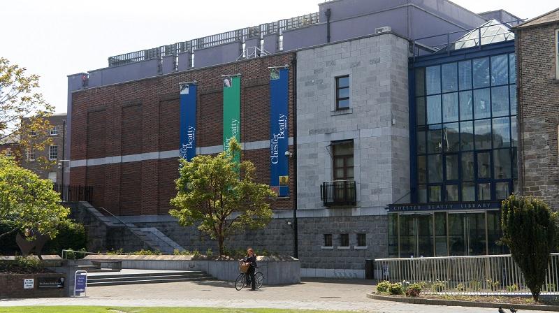 Fachada da Biblioteca Chester Beatty