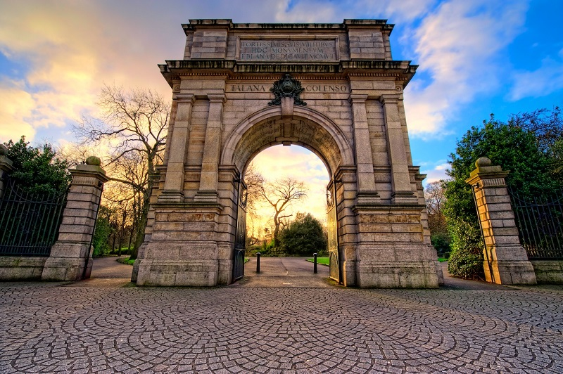 Arco Fusilier do Parque St. Stephen's Green