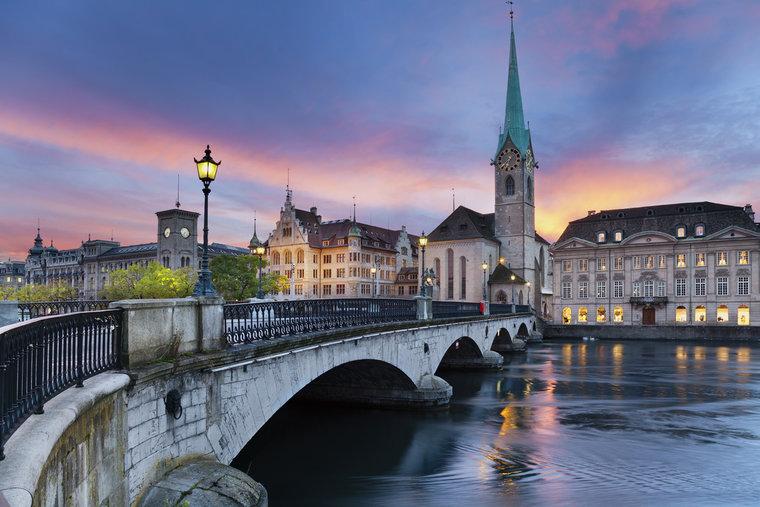 Ponte em Zurique