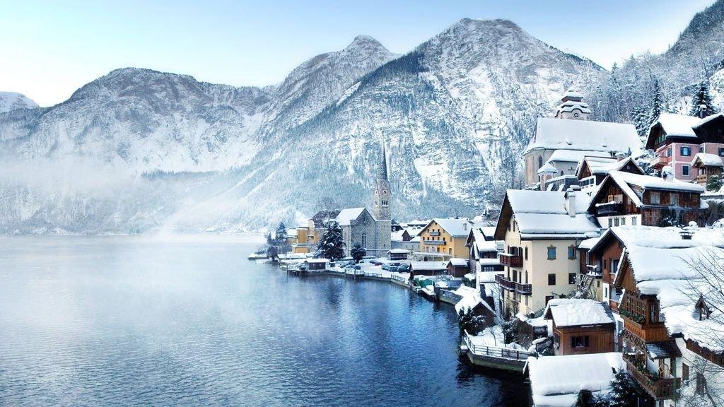 Hallstatt na Áustria