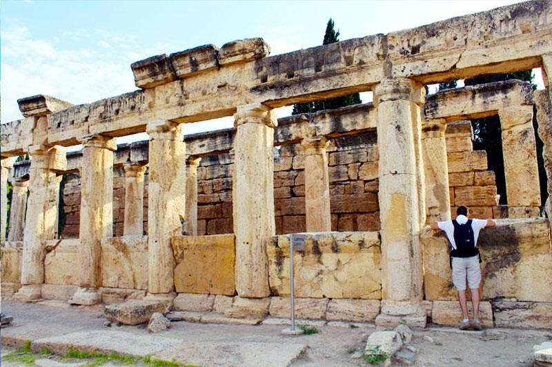 Hierápolis na Turquia