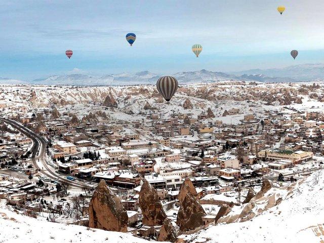 Clima e temperatura na Turquia