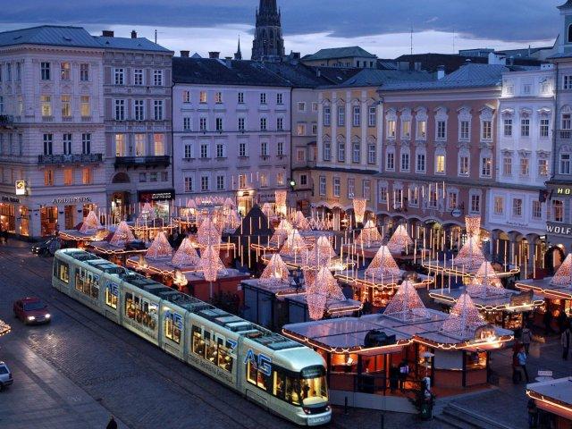 Principais cidades turísticas na Áustria