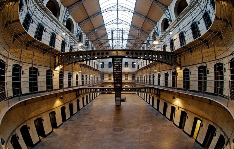 Museu Kilmainham Gaol em Dublin