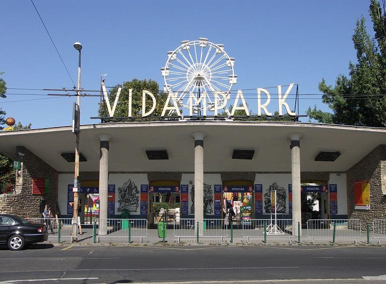 Parque da cidade (Városliget) em Budapeste