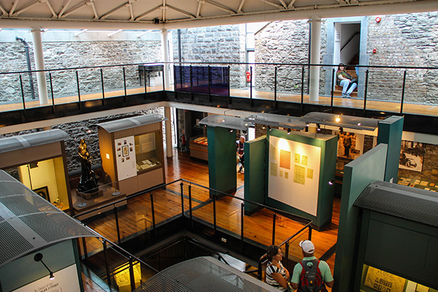 Interior de Kilmainham Gaol