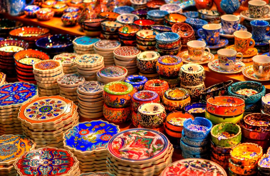 Produtos em Istambul
