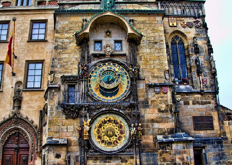 Prédio histórico na Cidade Velha em Praga