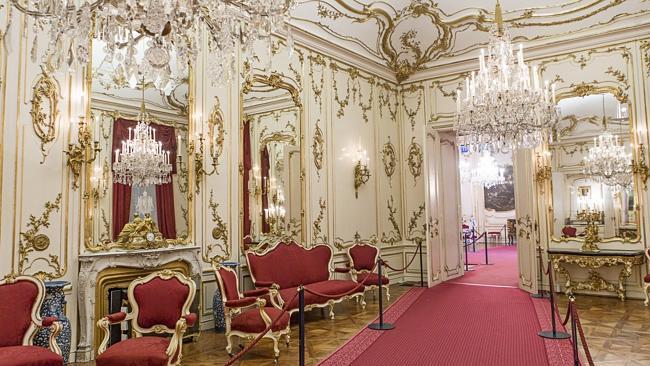 Sala do Palácio de Schonbrunn em Viena