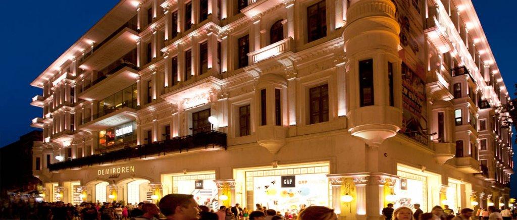 Shopping Demiroren em Istambul na Turquia