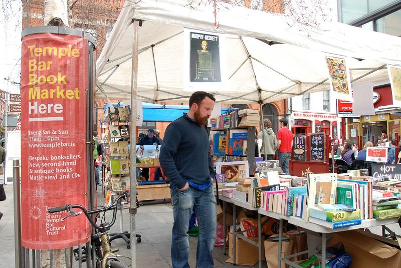 Feira de livros do Temple Bar