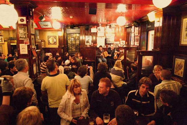 Interior do Temple Bar