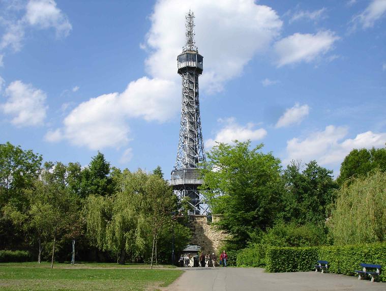 Torre Petrín em Praga