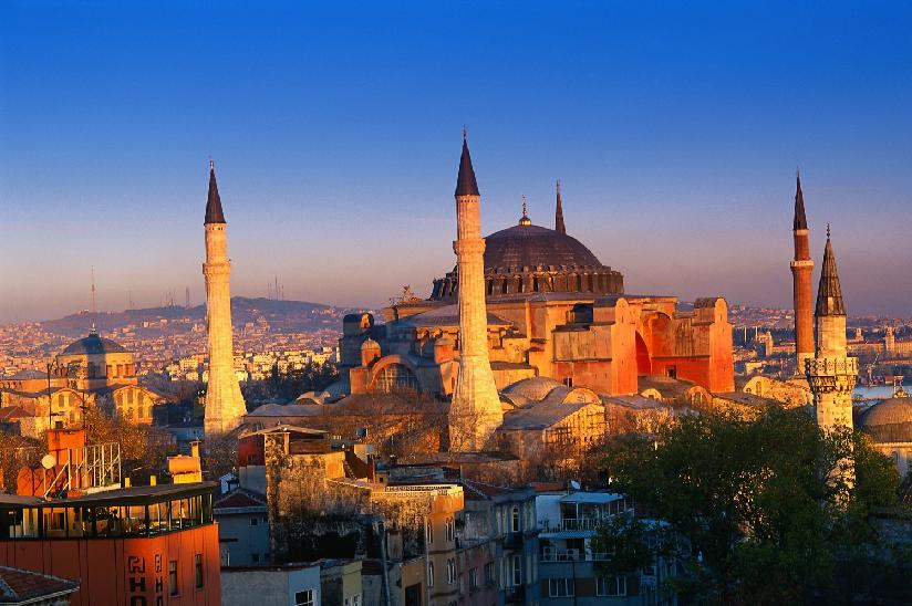 Mesquita Azul na Turquia