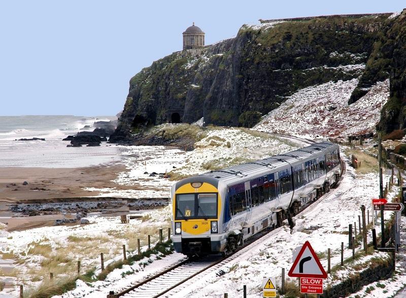 Trem na Irlanda