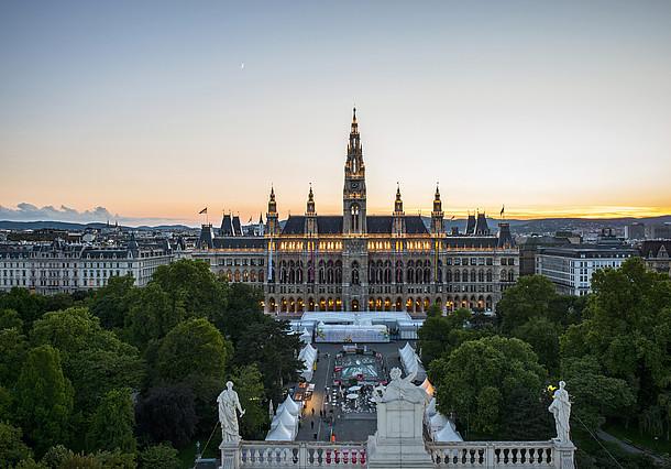 Viena na Áustria