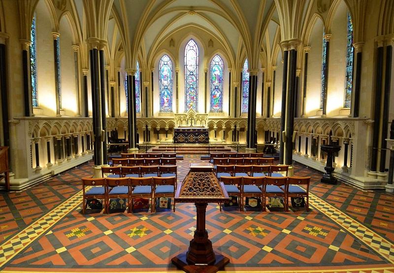 Entrada da Catedral de São Patrício em Dublin