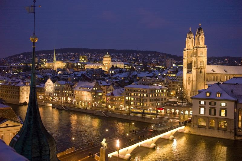 Noite em Zurique