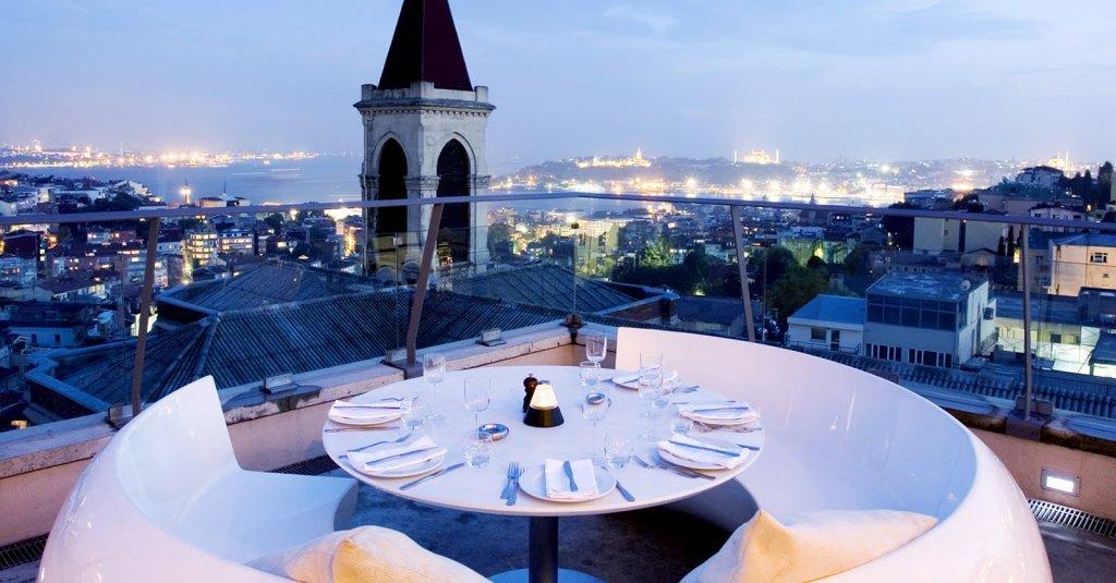 Bar 360º Istambul na Turquia