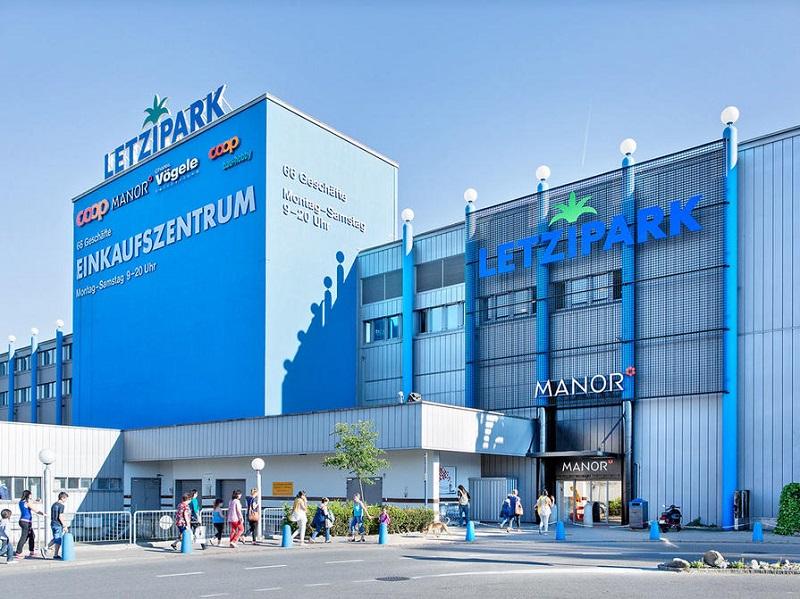 Shopping Letzipark em Zurique
