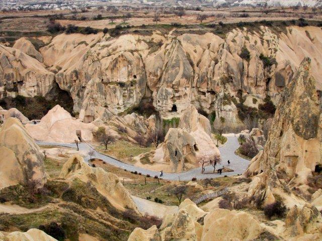 Pontos Turísticos na Capadócia   Turquia