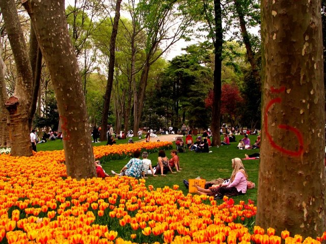 Parque Gülhane em Istambul | Turquia