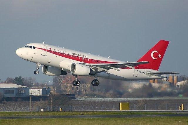 Tempo de avião até a Turquia