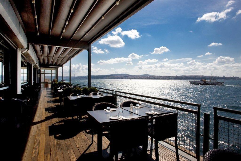 Restaurante do Museu de Arte Moderna de Istambul